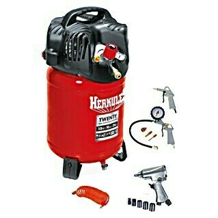 Herkules Kit de compresor Twenty + Kit (1,1 kW, 10 bar, 3.400 r.p.m.)(1,1 kW, 10 bar, 3.400 r.p.m.)