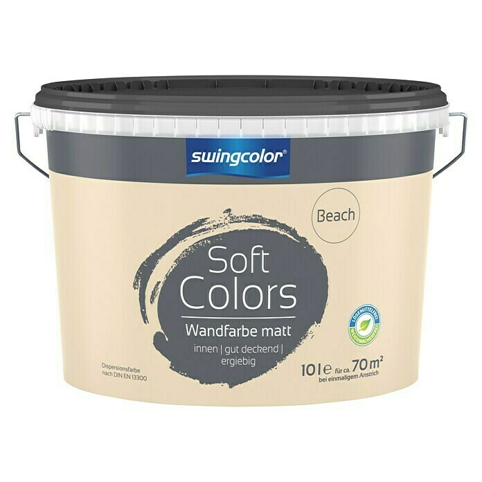 swingcolor Soft Colors Wandfarbe (Beach, 10 l, Matt) - 6208.D010.2537