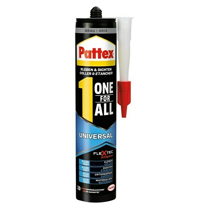 Pattex Montagekleber One for All (420 g, Grau) - PXFIG
