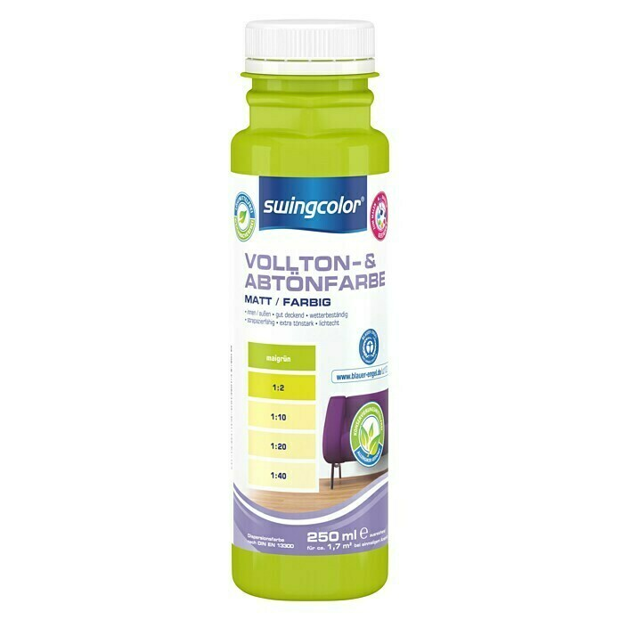 swingcolor Colorant nuançable vert mai