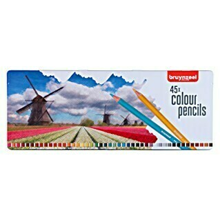 Talens Bruynzeel Set lápices de colores Holanda (45 uds., Grosor de trazo: 2,9 mm)(45 uds., Grosor de trazo: 2,9 mm)