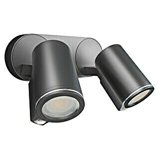Steinel LED-Strahler Duo S Connect (L x B x H: 17,5 x 24,7 x 9,8 cm, Anthrazit, 15 W)