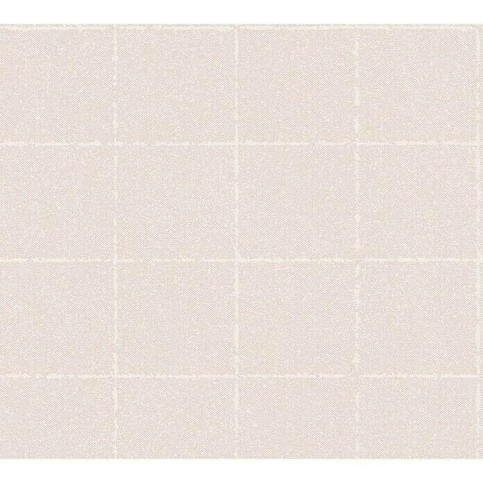 AS Creation New Elegance Vliestapete Fliese (Rosa, Fliesenoptik, 10,05 x 0,53 m) -