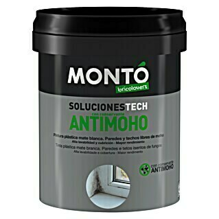 Montó Bricolovers Pintura antimoho (Blanco, 750 ml, Mate)(Blanco, 750 ml, Mate)