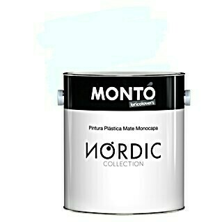 Montó Bricolovers Pintura para paredes Nordic (Fossil, 4 l, Mate)(Fossil, 4 l, Mate)
