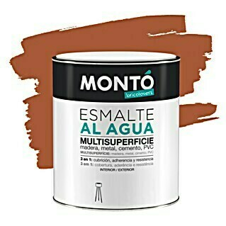 Montó Bricolovers Esmalte de color (Terracota, 750 ml, Mate)(Terracota, 750 ml, Mate)