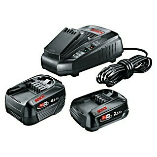 Bosch 18 V Power for All Starter-Set Pack&Go (18 V, 2 Akkus, 2,5 - 4 Ah)