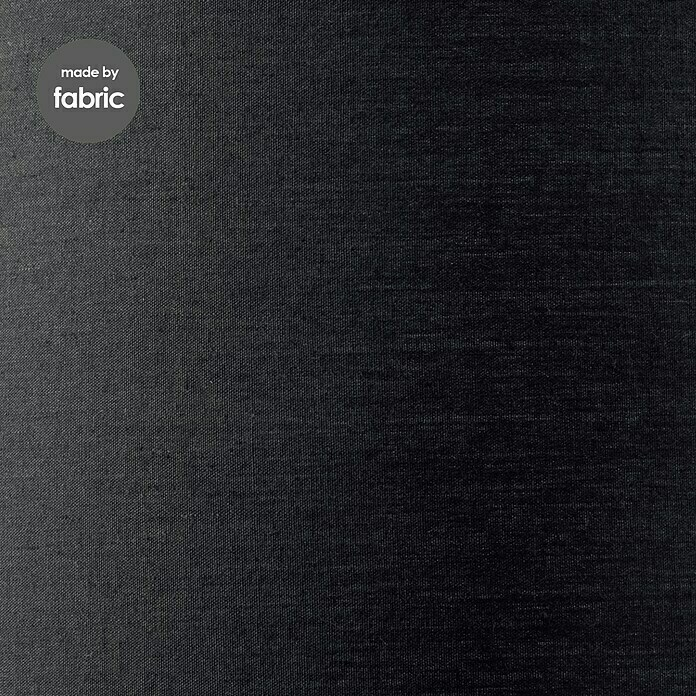 Home Sweet Home Lampenschirm Largo (Ø x H: 40 x 22 cm, Night Black, Stoff, Rund)