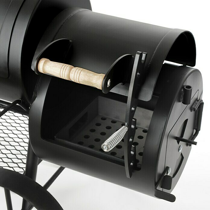 Rumo Barbeque Deckelhalter (Passend für: Rumo Barbeque Smoker Texas Classic)