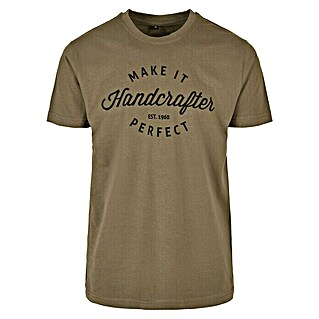 T-Shirt Handcrafter (XL, Olive)(XL, Olive)