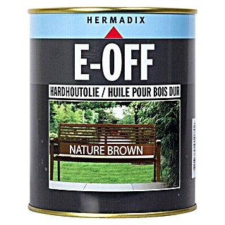 Hermadix Hardhoutolie E-OFF Nature Brown (750 ml, Nature Brown, Mat)